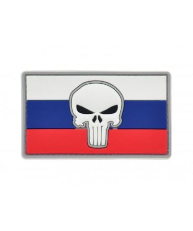 Bandiera Russia Teschio